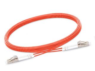LC-LC Duplex Multimode (OM1) 62.5/125um (1) Meter 2mm Orange