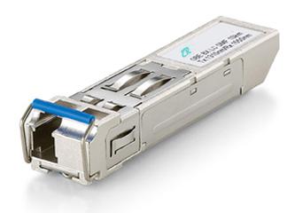 Hardened 1.25Gbps SFP Transceiver, BiDi, 20km, LC, 1310T/1550R